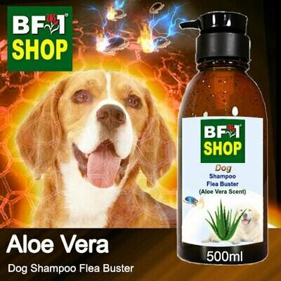 Dog Shampoo Flea Buster (DSO-Dog) - Aloe Vera - 500ml ⭐⭐⭐⭐⭐