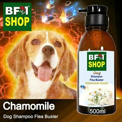 Dog Shampoo Flea Buster (DSO-Dog) - Chamomile - 500ml ⭐⭐⭐⭐⭐