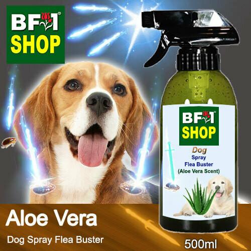 Dog Spray Flea Buster (DSY-Dog) - Aloe Vera - 500ml ⭐⭐⭐⭐⭐