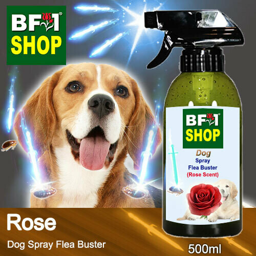 Dog Spray Flea Buster (DSY-Dog) - Rose - 500ml ⭐⭐⭐⭐⭐