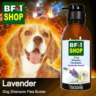 Dog Shampoo Flea Buster (DSO-Dog) - Lavender - 500ml ⭐⭐⭐⭐⭐