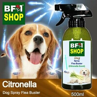 Dog Spray Flea Buster (DSY-Dog) - Citronella - 500ml ⭐⭐⭐⭐⭐