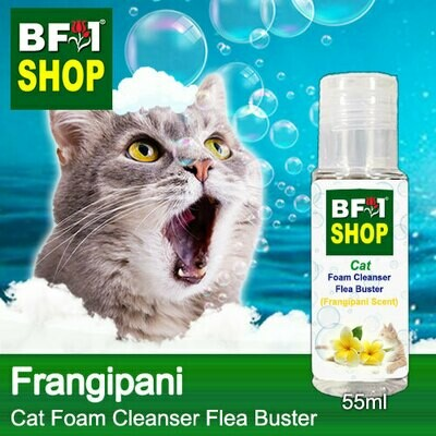 Cat Foam Cleanser Flea Buster (CFC-Cat) - Frangipani - 55ml ⭐⭐⭐⭐⭐