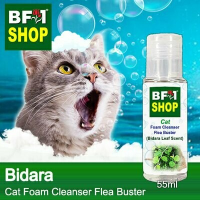 Cat Foam Cleanser Flea Buster (CFC-Cat) - Bidara - 55ml ⭐⭐⭐⭐⭐