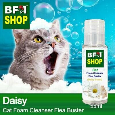 Cat Foam Cleanser Flea Buster (CFC-Cat) - Daisy - 55ml ⭐⭐⭐⭐⭐