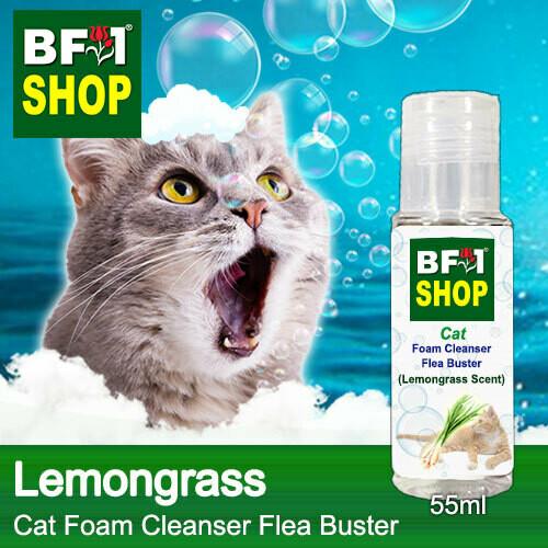 Cat Foam Cleanser Flea Buster (CFC-Cat) - Lemongrass - 55ml ⭐⭐⭐⭐⭐