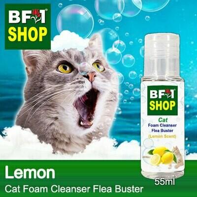 Cat Foam Cleanser Flea Buster (CFC-Cat) - Lemon - 55ml ⭐⭐⭐⭐⭐