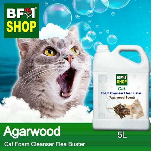 Cat Foam Cleanser Flea Buster (CFC-Cat) - Agarwood - 5L ⭐⭐⭐⭐⭐