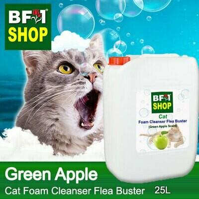 Cat Foam Cleanser Flea Buster (CFC-Cat) - Apple - Green Apple - 25L ⭐⭐⭐⭐⭐
