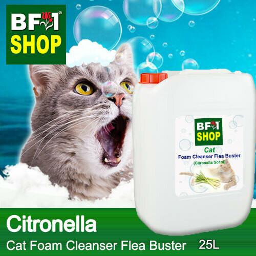 Cat Foam Cleanser Flea Buster (CFC-Cat) - Citronella - 25L ⭐⭐⭐⭐⭐