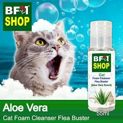 Cat Foam Cleanser Flea Buster (CFC-Cat) - Aloe Vera - 55ml ⭐⭐⭐⭐⭐