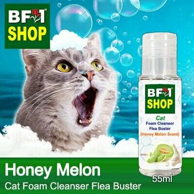 Cat Foam Cleanser Flea Buster (CFC-Cat) - Honey Melon - 55ml ⭐⭐⭐⭐⭐