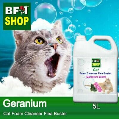 Cat Foam Cleanser Flea Buster (CFC-Cat) - Geranium - 5L ⭐⭐⭐⭐⭐