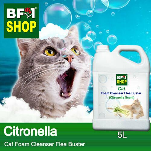 Cat Foam Cleanser Flea Buster (CFC-Cat) - Citronella - 5L ⭐⭐⭐⭐⭐