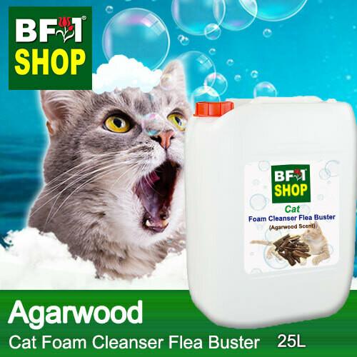 Cat Foam Cleanser Flea Buster (CFC-Cat) - Agarwood - 25L ⭐⭐⭐⭐⭐