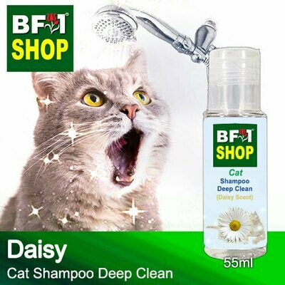 Cat Shampoo Deep Clean (CSDC-Cat) - Daisy - 55ml ⭐⭐⭐⭐⭐
