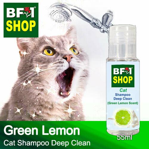 Cat Shampoo Deep Clean (CSDC-Cat) - Lemon - Green Lemon - 55ml ⭐⭐⭐⭐⭐