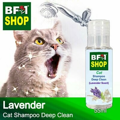 Cat Shampoo Deep Clean (CSDC-Cat) - Lavender - 55ml ⭐⭐⭐⭐⭐