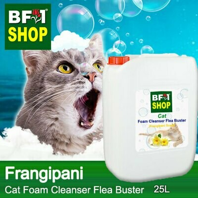 Cat Foam Cleanser Flea Buster (CFC-Cat) - Frangipani - 25L ⭐⭐⭐⭐⭐