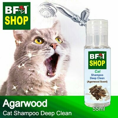 Cat Shampoo Deep Clean (CSDC-Cat) - Agarwood - 55ml ⭐⭐⭐⭐⭐