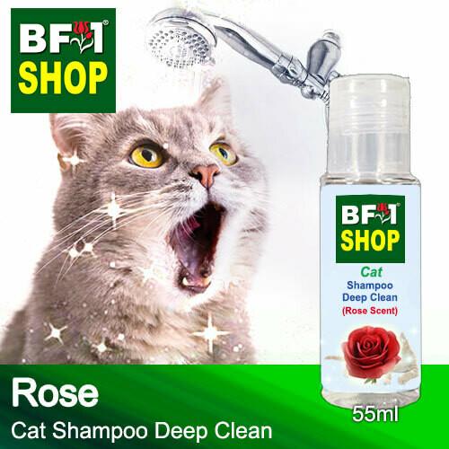 Cat Shampoo Deep Clean (CSDC-Cat) - Rose - 55ml ⭐⭐⭐⭐⭐