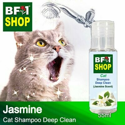 Cat Shampoo Deep Clean (CSDC-Cat) - Jasmine - 55ml ⭐⭐⭐⭐⭐