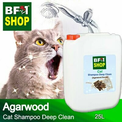 Cat Shampoo Deep Clean (CSDC-Cat) - Agarwood - 25L ⭐⭐⭐⭐⭐