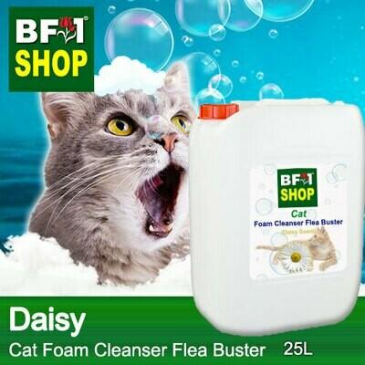 Cat Foam Cleanser Flea Buster (CFC-Cat) - Daisy - 25L ⭐⭐⭐⭐⭐