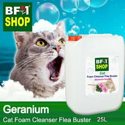 Cat Foam Cleanser Flea Buster (CFC-Cat) - Geranium - 25L ⭐⭐⭐⭐⭐