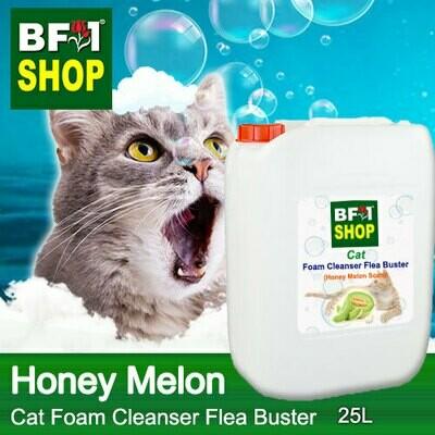 Cat Foam Cleanser Flea Buster (CFC-Cat) - Honey Melon - 25L ⭐⭐⭐⭐⭐