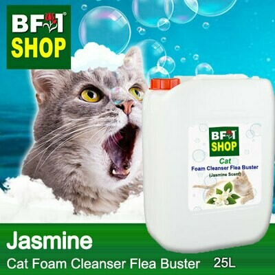 Cat Foam Cleanser Flea Buster (CFC-Cat) - Jasmine - 25L ⭐⭐⭐⭐⭐
