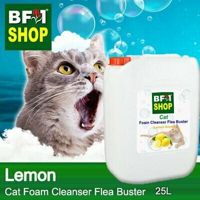 Cat Foam Cleanser Flea Buster (CFC-Cat) - Lemon - 25L ⭐⭐⭐⭐⭐