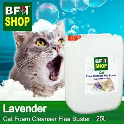 Cat Foam Cleanser Flea Buster (CFC-Cat) - Lavender - 25L ⭐⭐⭐⭐⭐