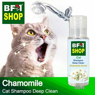 Cat Shampoo Deep Clean (CSDC-Cat) - Chamomile - 55ml ⭐⭐⭐⭐⭐