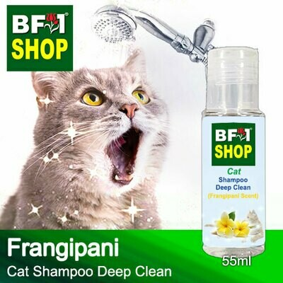 Cat Shampoo Deep Clean (CSDC-Cat) - Frangipani - 55ml ⭐⭐⭐⭐⭐