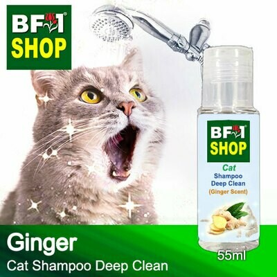 Cat Shampoo Deep Clean (CSDC-Cat) - Ginger - 55ml ⭐⭐⭐⭐⭐