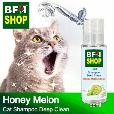 Cat Shampoo Deep Clean (CSDC-Cat) - Honey Melon - 55ml ⭐⭐⭐⭐⭐