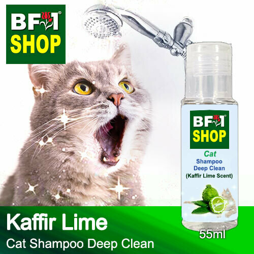 Cat Shampoo Deep Clean (CSDC-Cat) - lime - Kaffir Lime - 55ml ⭐⭐⭐⭐⭐