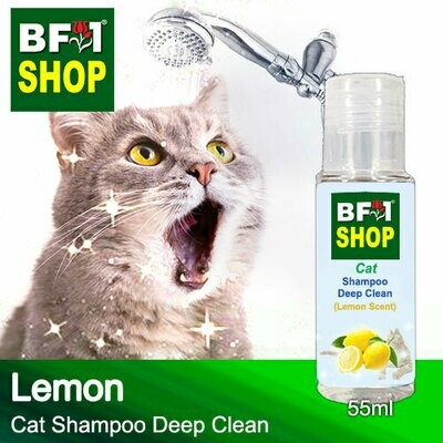Cat Shampoo Deep Clean (CSDC-Cat) - Lemon - 55ml ⭐⭐⭐⭐⭐