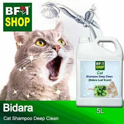 Cat Shampoo Deep Clean (CSDC-Cat) - Bidara - 5L ⭐⭐⭐⭐⭐