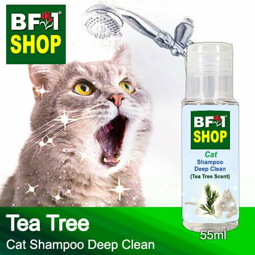 Cat Shampoo Deep Clean (CSDC-Cat) - Tea Tree - 55ml ⭐⭐⭐⭐⭐