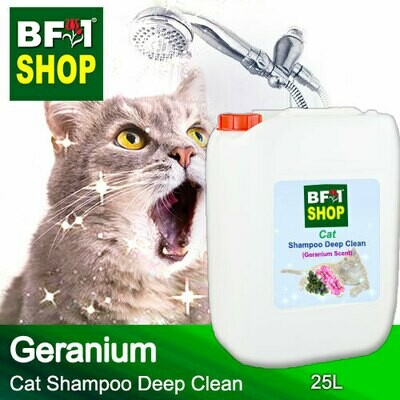 Cat Shampoo Deep Clean (CSDC-Cat) - Geranium - 25L ⭐⭐⭐⭐⭐