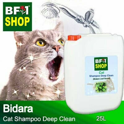 Cat Shampoo Deep Clean (CSDC-Cat) - Bidara - 25L ⭐⭐⭐⭐⭐