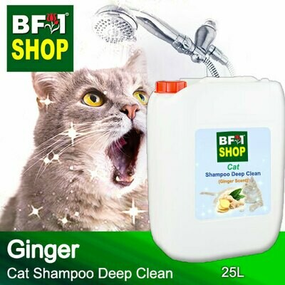 Cat Shampoo Deep Clean (CSDC-Cat) - Ginger - 25L ⭐⭐⭐⭐⭐