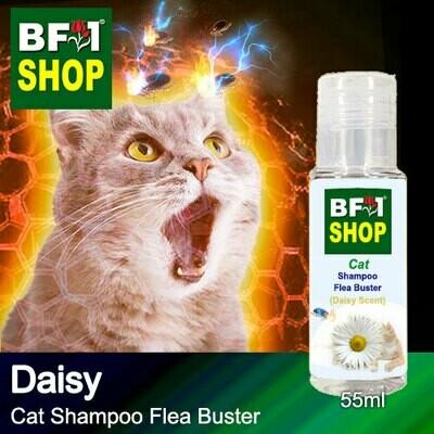 Cat Shampoo Flea Buster (CSO-Cat) - Daisy - 55ml ⭐⭐⭐⭐⭐