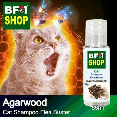 Cat Shampoo Flea Buster (CSO-Cat) - Agarwood - 55ml ⭐⭐⭐⭐⭐
