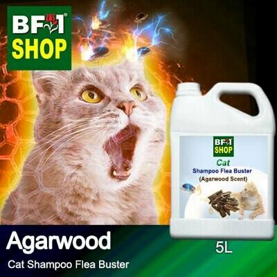 Cat Shampoo Flea Buster (CSO-Cat) - Agarwood - 5L ⭐⭐⭐⭐⭐