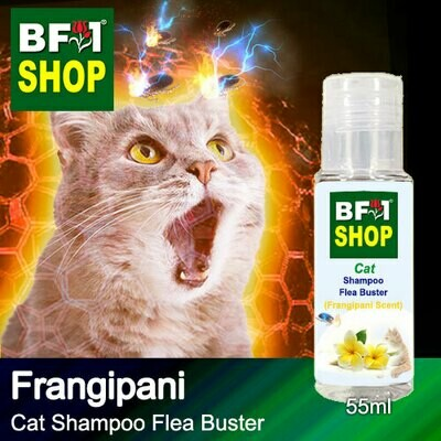 Cat Shampoo Flea Buster (CSO-Cat) - Frangipani - 55ml ⭐⭐⭐⭐⭐
