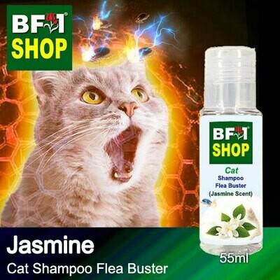 Cat Shampoo Flea Buster (CSO-Cat) - Jasmine - 55ml ⭐⭐⭐⭐⭐