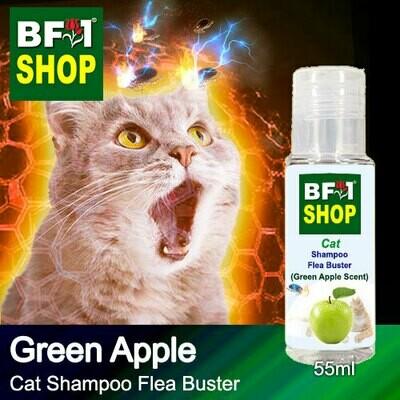 Cat Shampoo Flea Buster (CSO-Cat) - Apple - Green Apple - 55ml ⭐⭐⭐⭐⭐